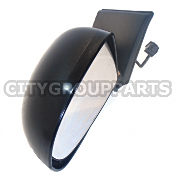 DODGE CALIBER PASSENGER LEFT SIDE FRONT ELECTRIC POWER FOLDING DOOR MIRROR BLACK